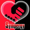 女子と手をつないで相性診断ができる「Sympergy」