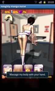 いたずら漫画看護師