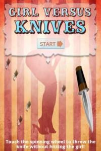 女の子VSナイフ